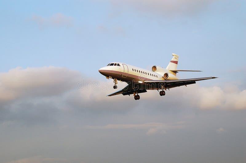 blisko 900b sokoła Dassault widok obraz stock