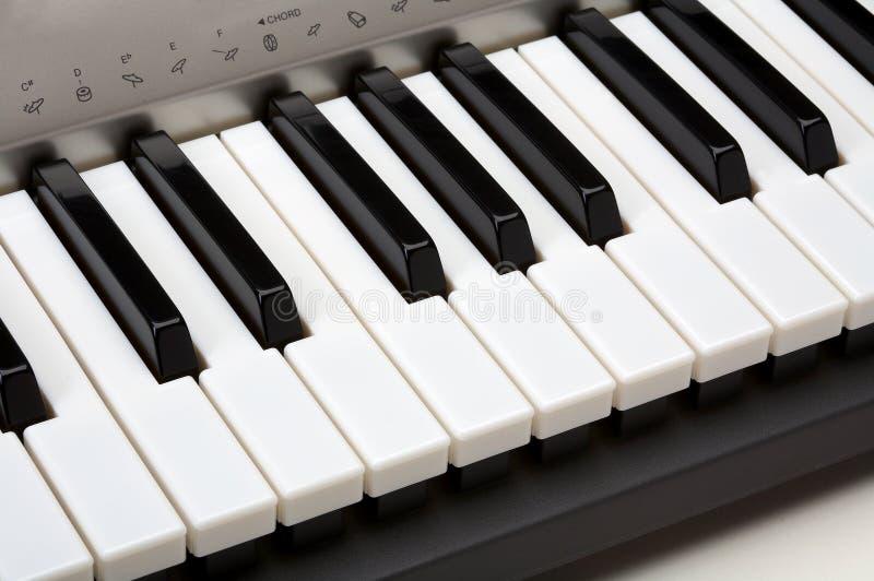 blisko ap klawiatury pianino zdjęcie royalty free
