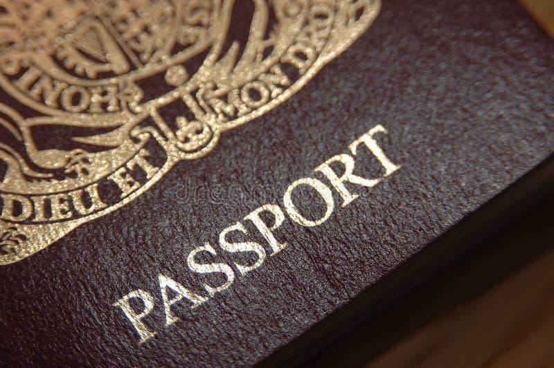 blisko brytyjski paszport. zdjęcia royalty free