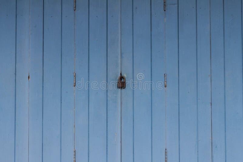 blisko drzwi drewniane obraz royalty free