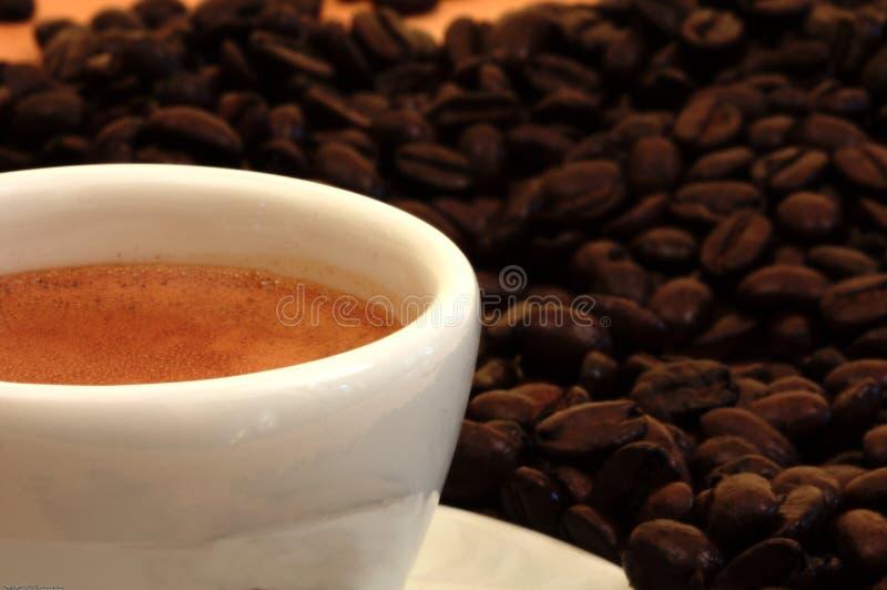 blisko filiżankę espresso. obraz stock