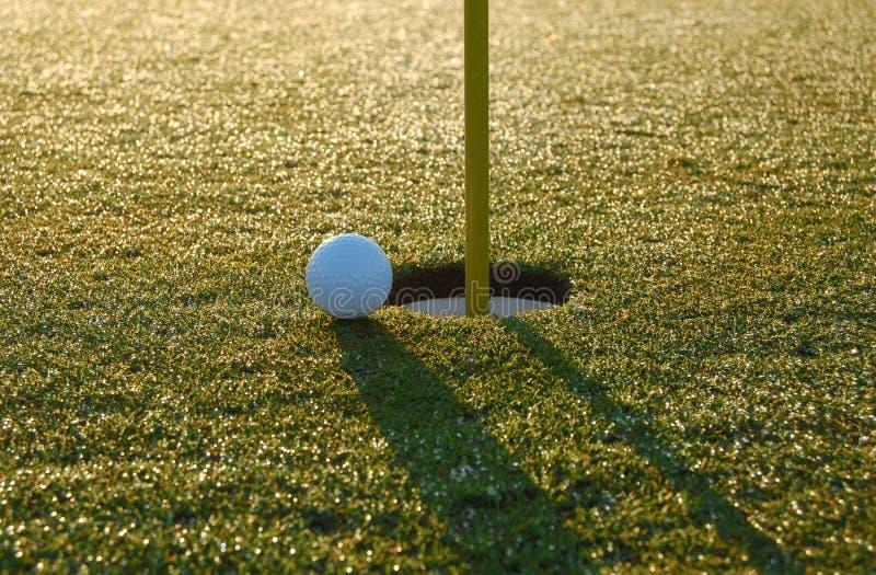 blisko golfa strzał zdjęcie royalty free