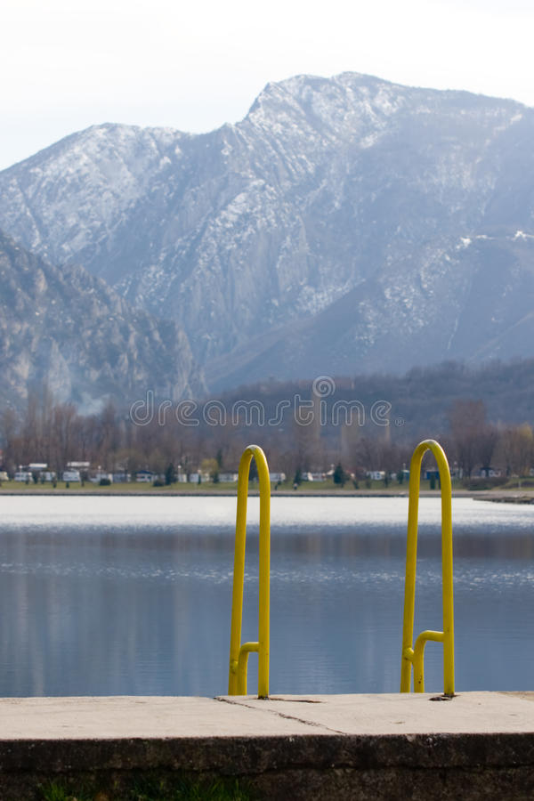 blisko Skopje treska jeziorny Macedonia obraz stock