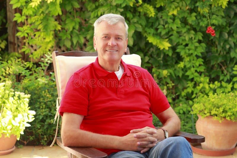 blisko stary portret senior, fotografia stock