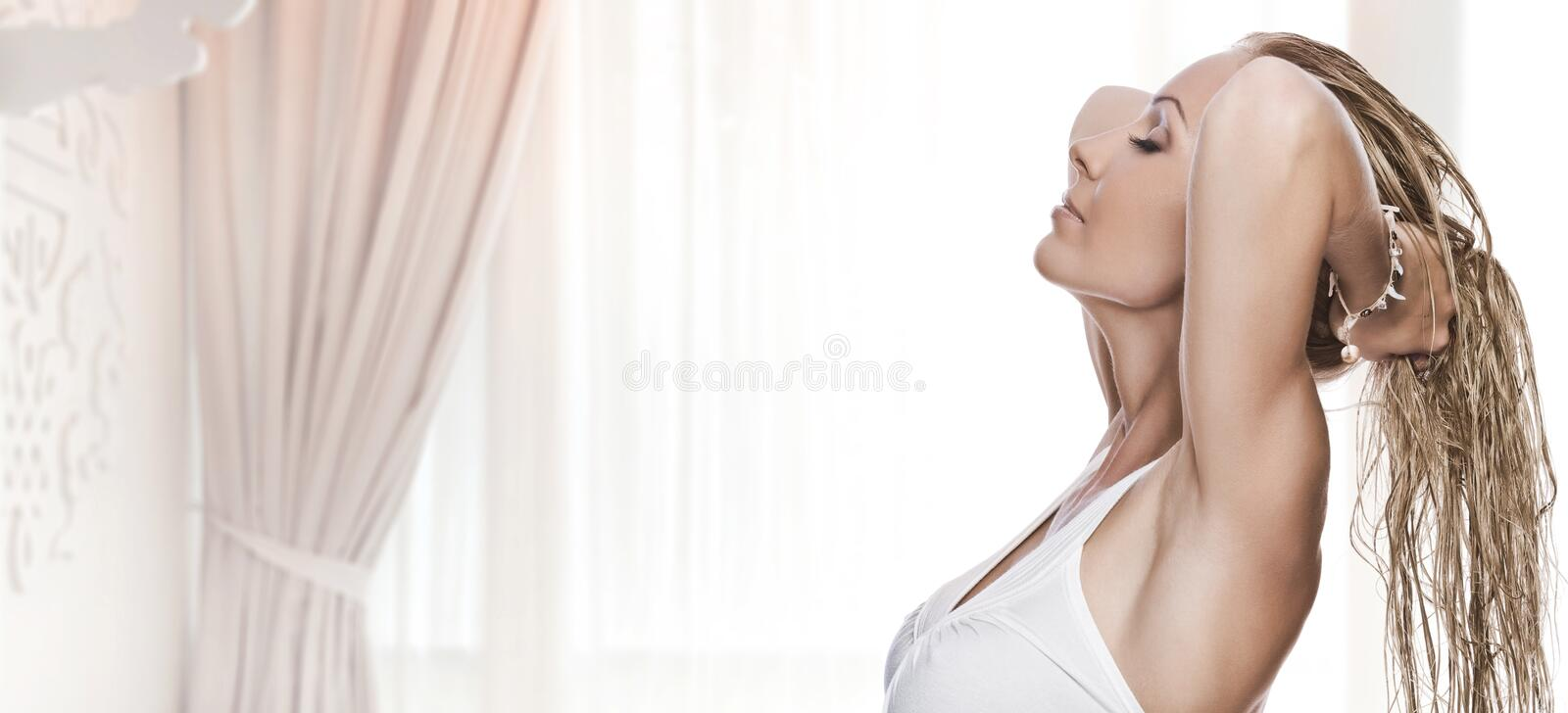 Download Bliss stock photo. Image of aromatherapy, beautiful, person - 12851540
