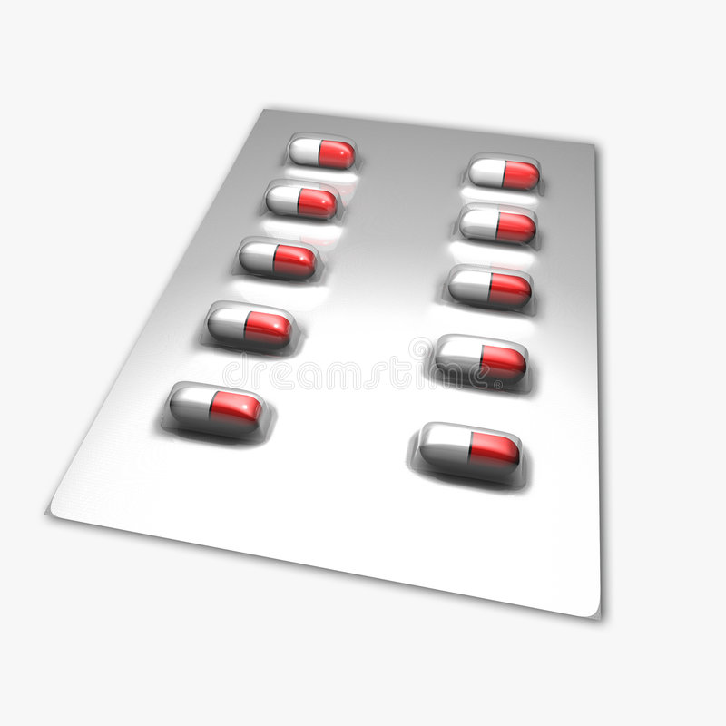 Download Blister stock illustration. Illustration of compliance - 7164766
