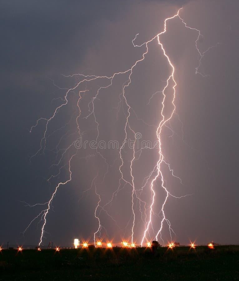 Blitz stockfoto