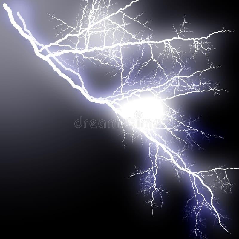 Blitz-hohes ausbreitenblinken lizenzfreie abbildung