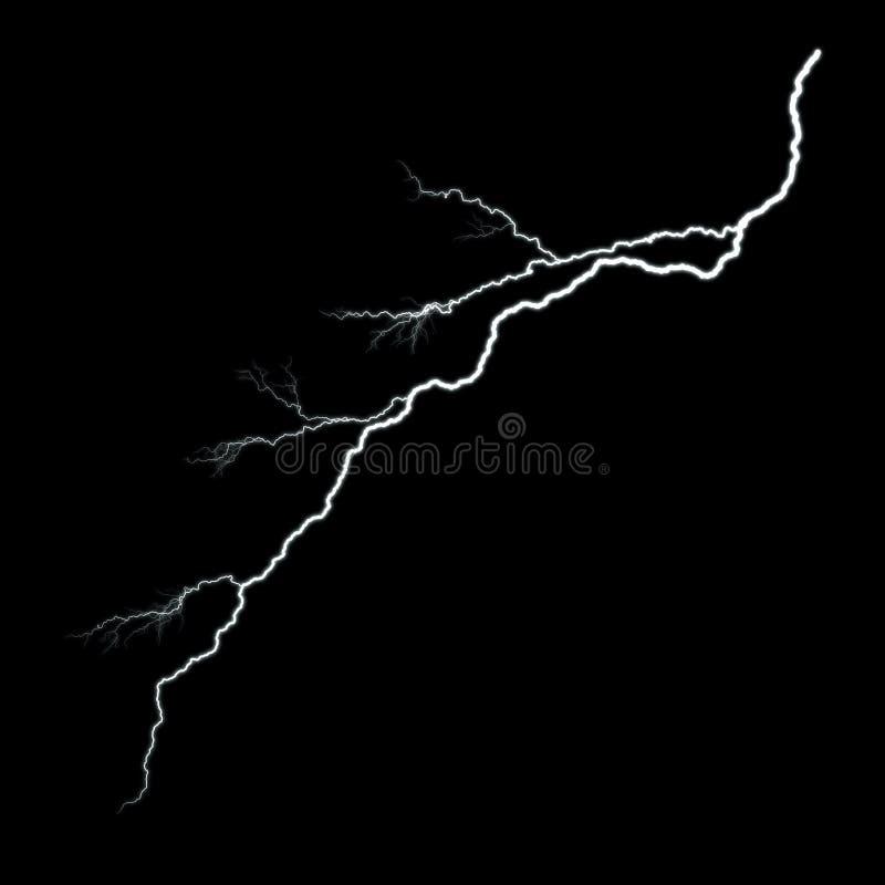 Blitz kein Glühen stock abbildung