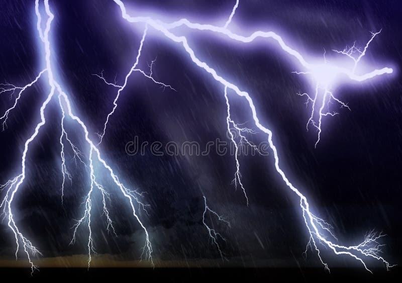 Blitz reichlich stockfotografie
