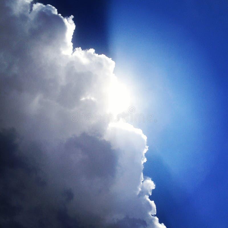 Blitz-Sturm in Kolorado USA lizenzfreies stockfoto