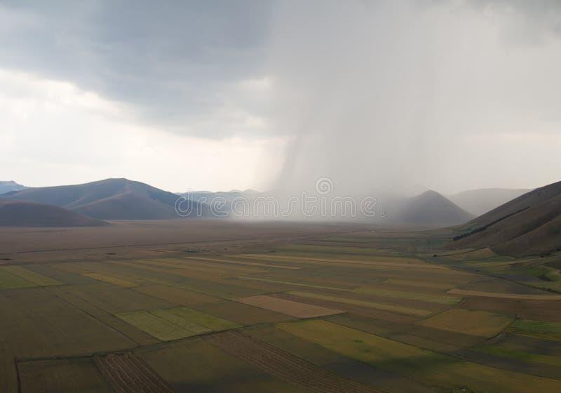 Blitz-Sturm in Kolorado USA stockbild