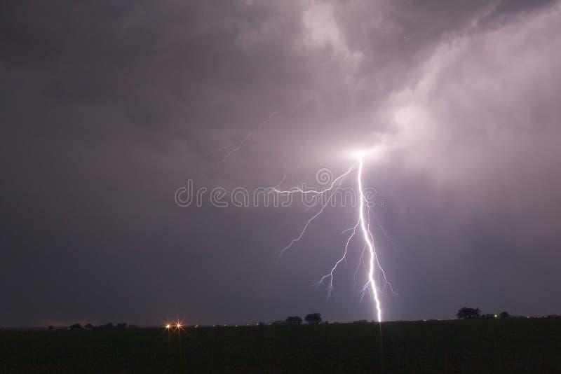 Blitzschlag 1 stockbilder