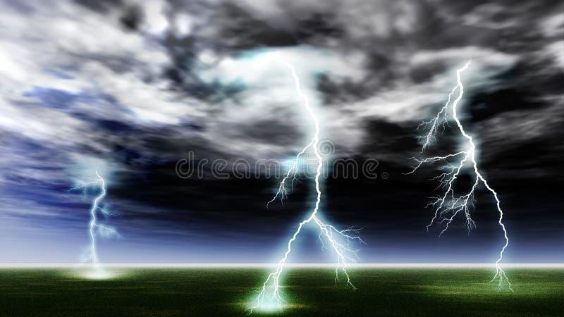 Blitzschlag lizenzfreie stockfotografie