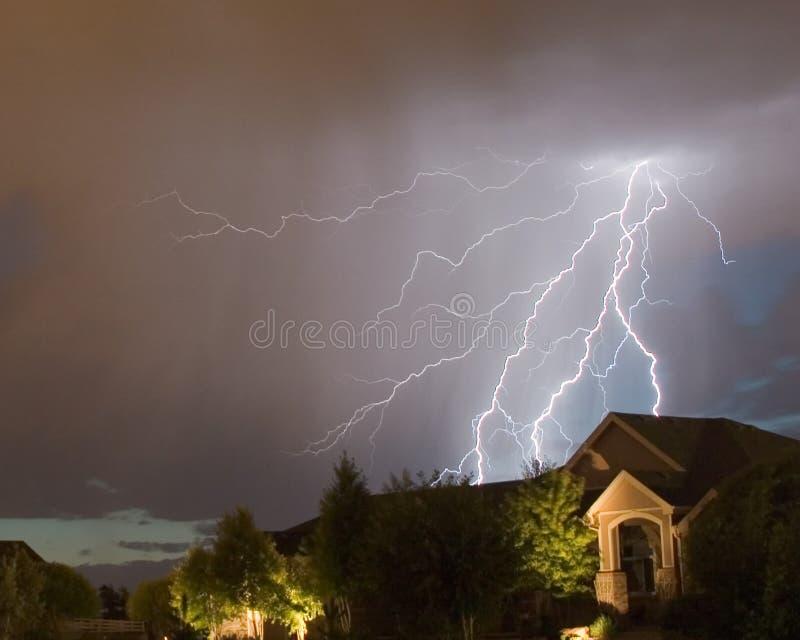 Blitzschlag 3 lizenzfreies stockbild