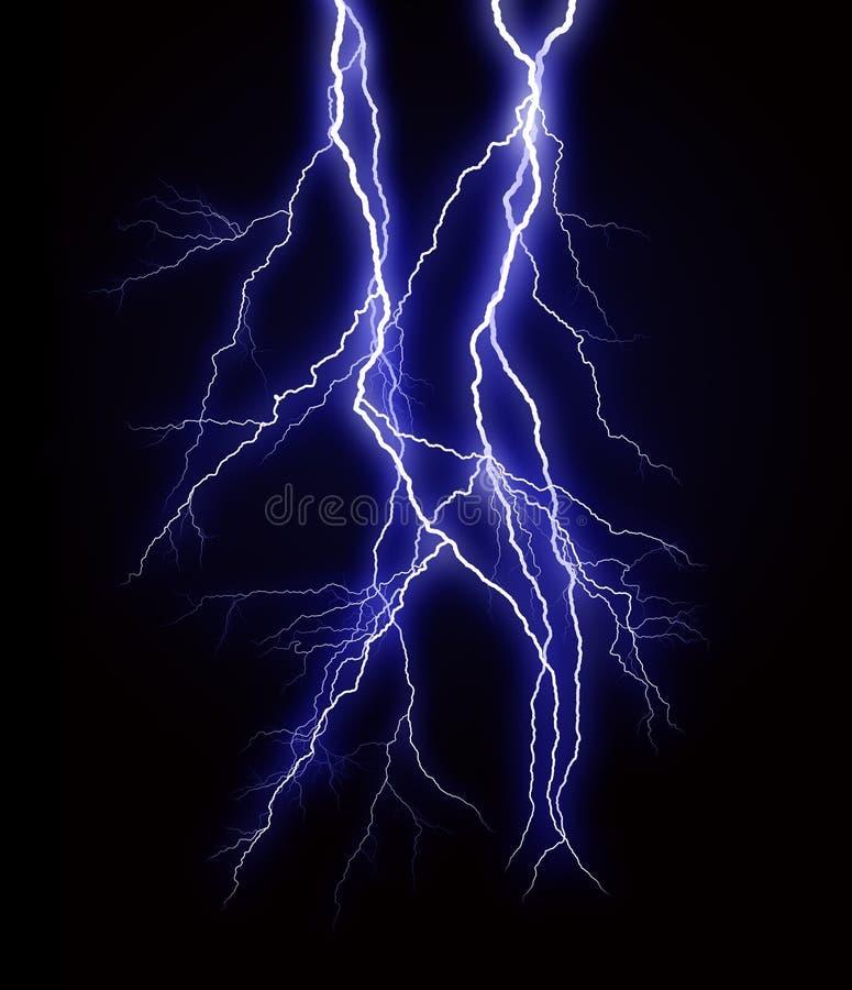 Blitzschlag lizenzfreies stockbild