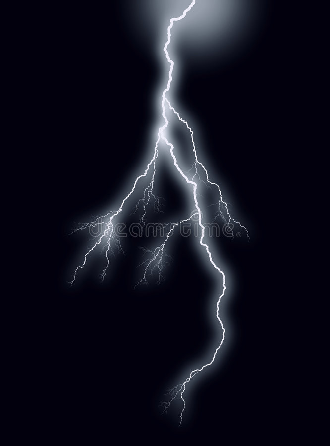 blixt vektor illustrationer