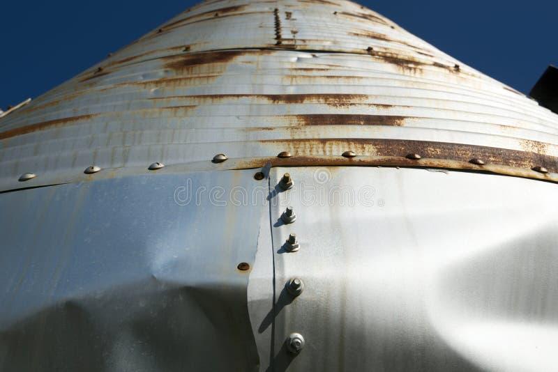Blixtrande silo royaltyfri bild