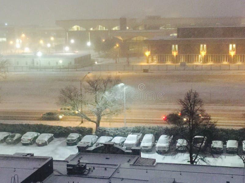 blizzard royalty-vrije stock afbeelding
