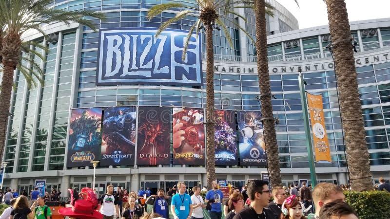BlizzCon royaltyfri foto