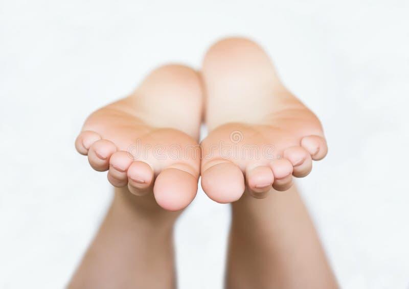 Bloße Füße stockfoto