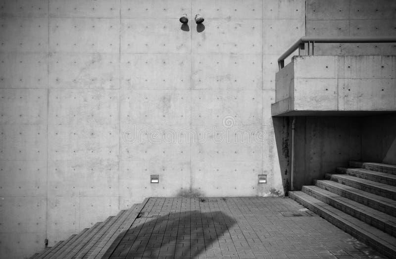 Bloße konkrete Architektur lizenzfreie stockbilder
