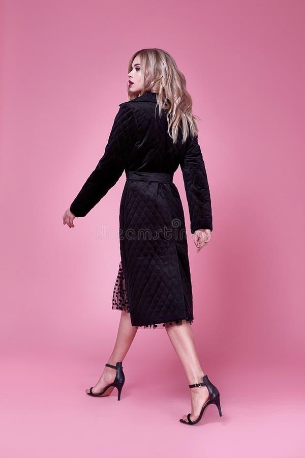 Blo consideravelmente bonito elegante 'sexy' novo da composição da cara da mulher da beleza fotos de stock royalty free