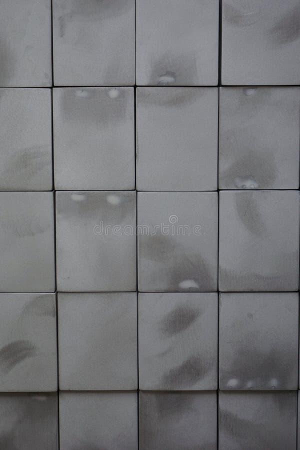 Bloc carré en métal abstrait photos libres de droits