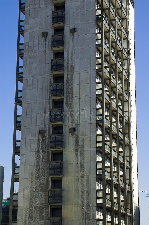 Bloc d'appartements photos libres de droits