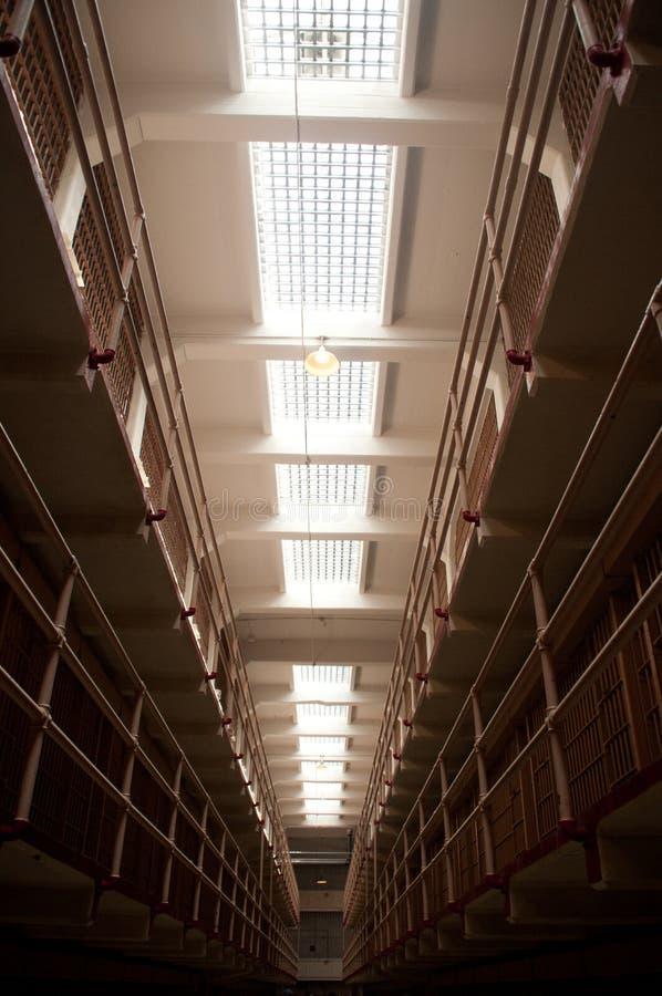 Bloc de cellules de Chambre de prison image libre de droits