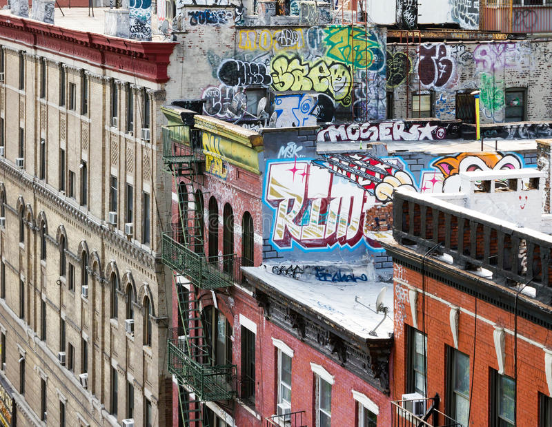 Bloc de New York City photos stock
