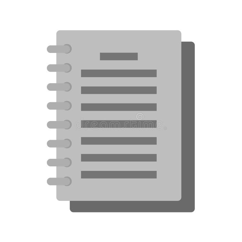 Bloc-notes illustration de vecteur