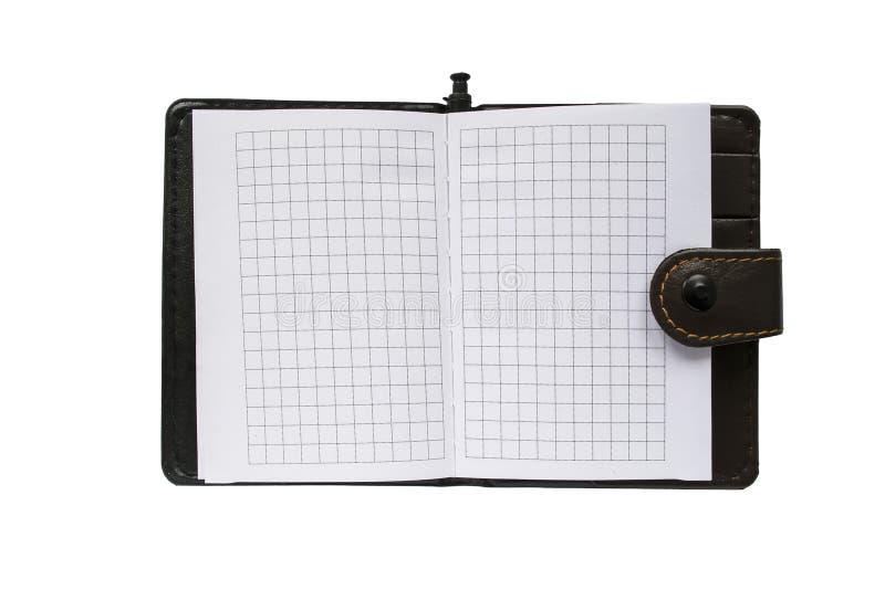 Bloc-notes blanc photographie stock libre de droits