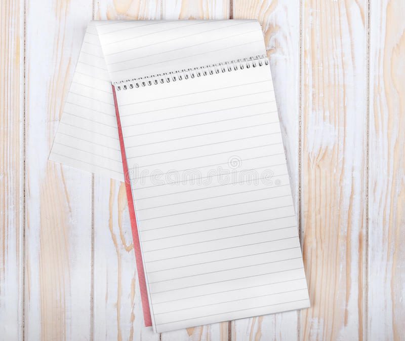 Download Bloc-notes En Spirale Réaliste Vide Photo stock - Image du notes, bloc: 56479168
