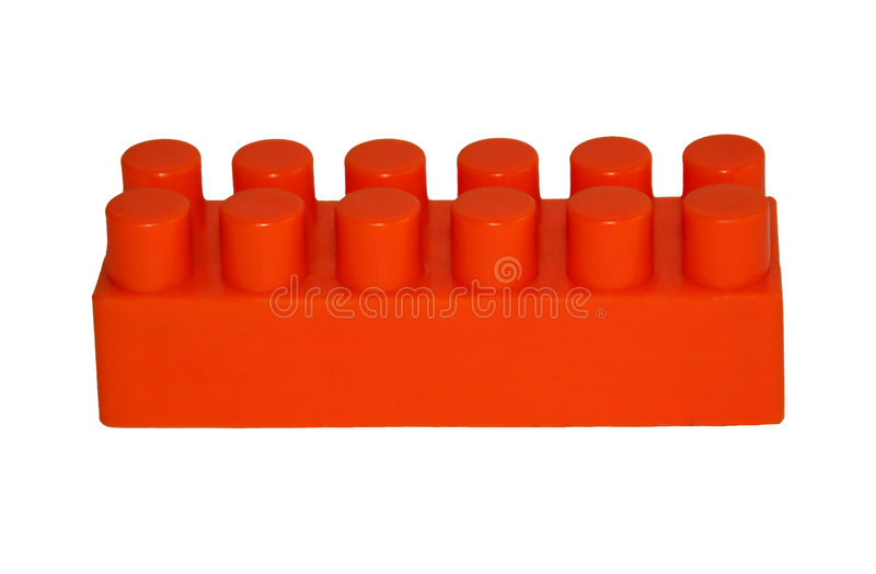 Bloc orange photos stock