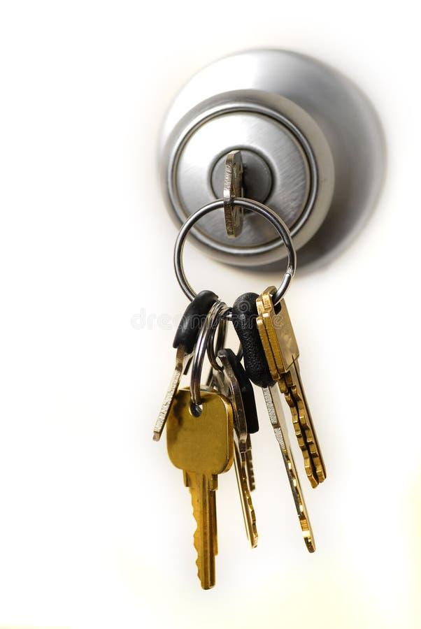 blocage de clés images stock