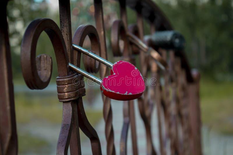 Blocage de l'amour images libres de droits