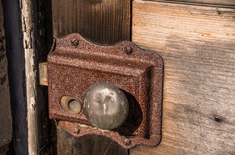blocage rouillé photo stock