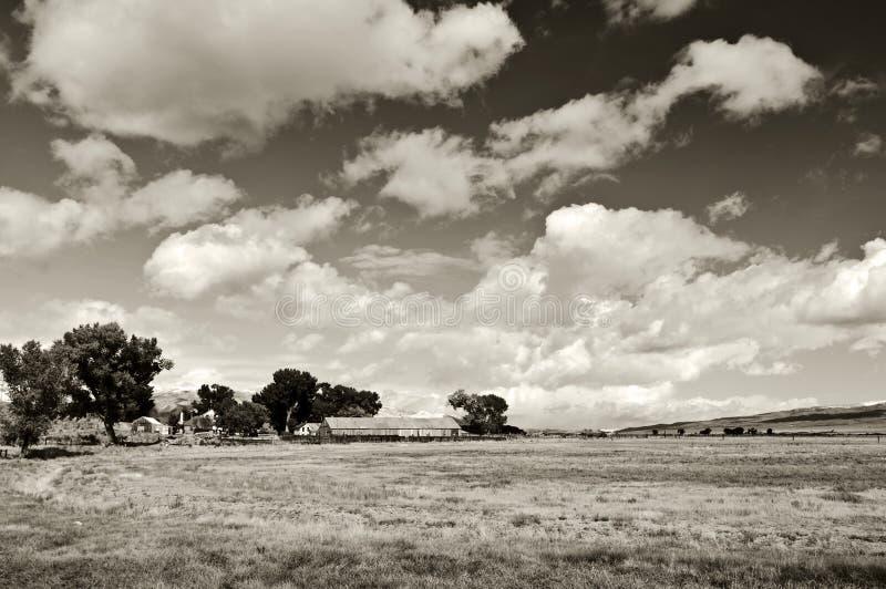 Bloccaggio del paesaggio scenico della natura strabiliante immagine stock libera da diritti