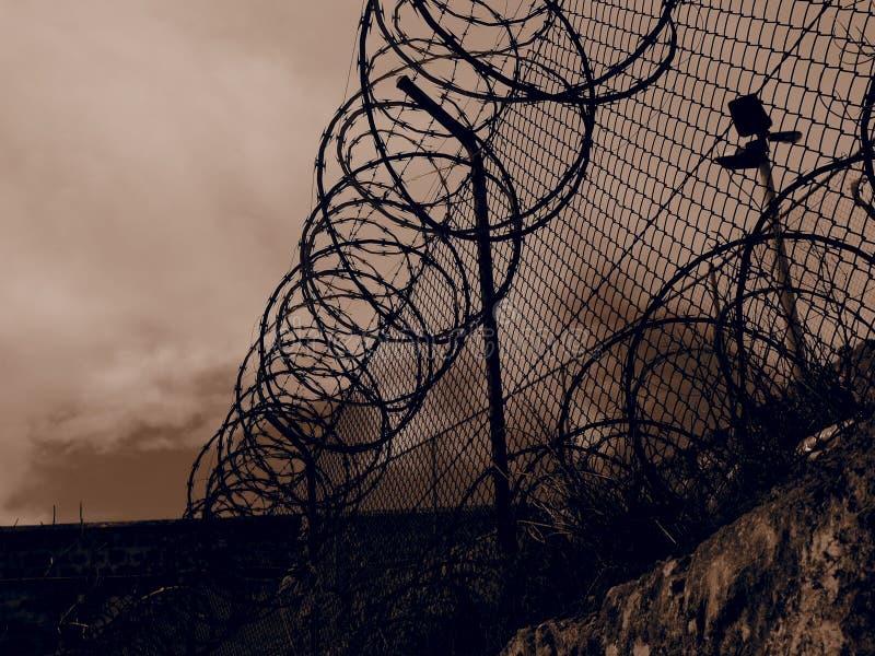 Bloccato in una gabbia immagini stock libere da diritti