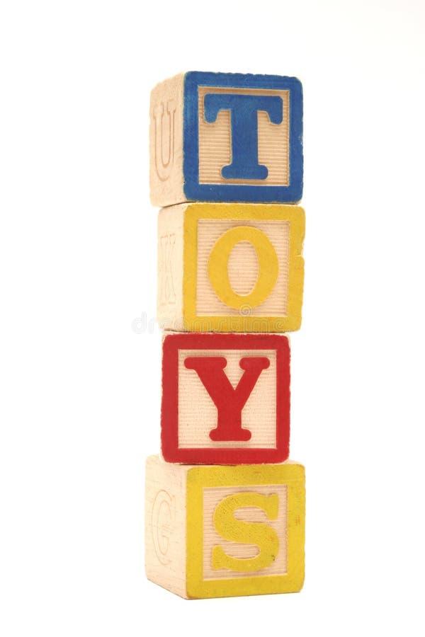 Blocchetti dei giocattoli fotografia stock libera da diritti