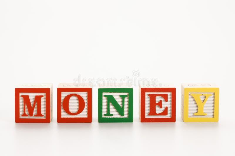 Blocchetti di alfabeto del giocattolo. fotografia stock