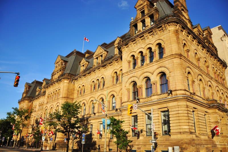 Blocchetto di Langevin, Ottawa fotografia stock libera da diritti