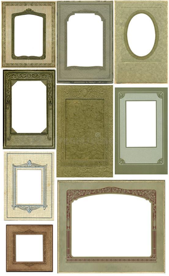 Blocchi per grafici antichi -- nove! fotografia stock