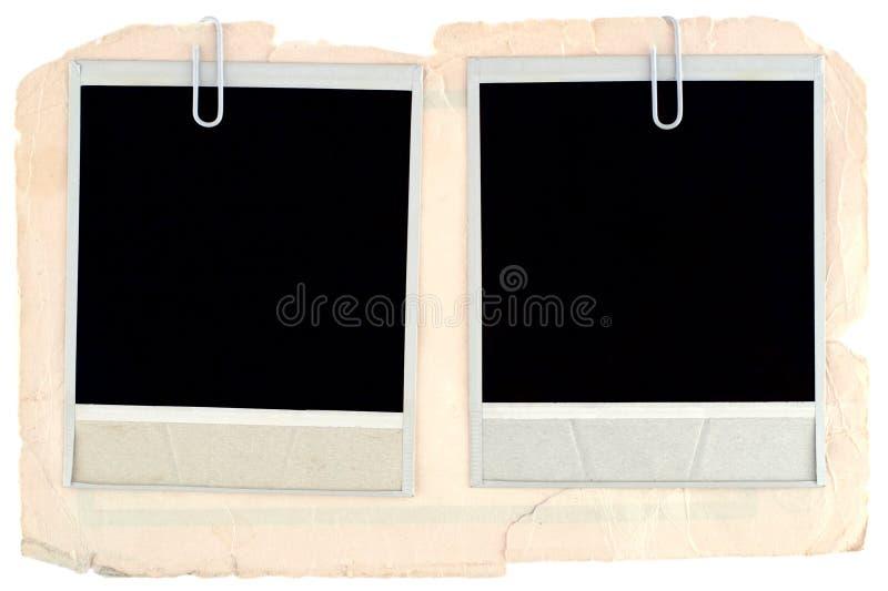 Blocchi per grafici in bianco della foto fotografie stock libere da diritti