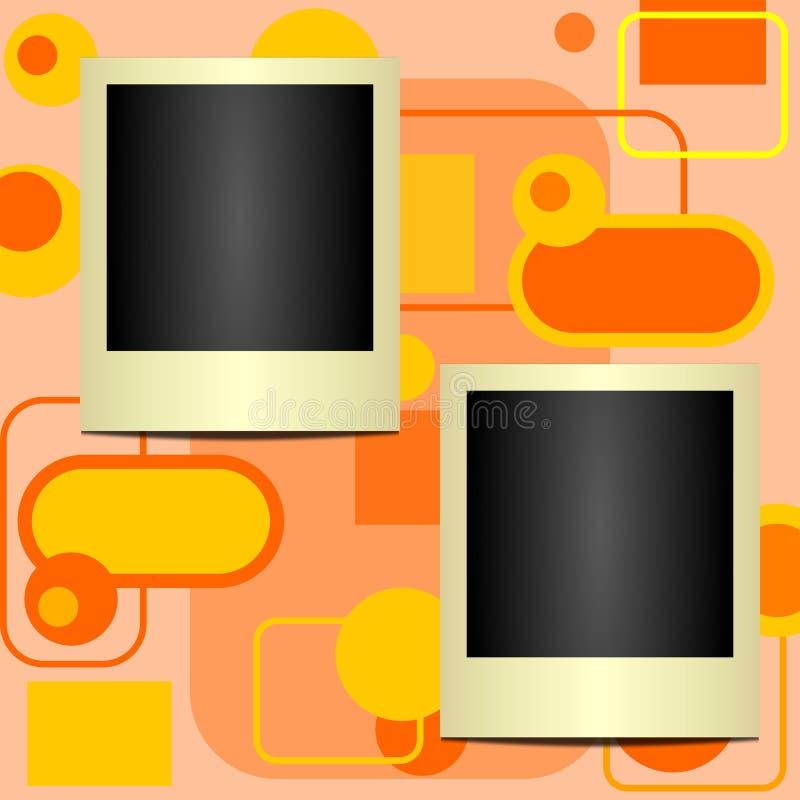 Blocchi per grafici del Polaroid [1] illustrazione vettoriale