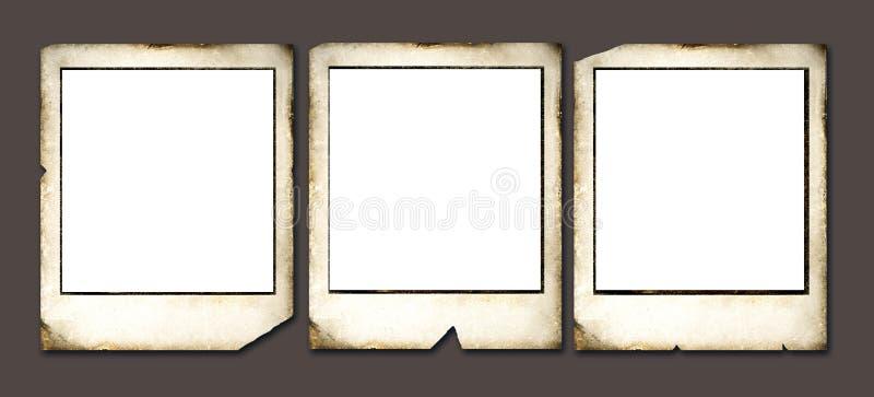 Blocchi per grafici del Polaroid dell'annata royalty illustrazione gratis