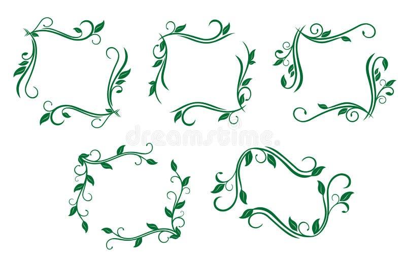 Blocchi per grafici dell'annata royalty illustrazione gratis