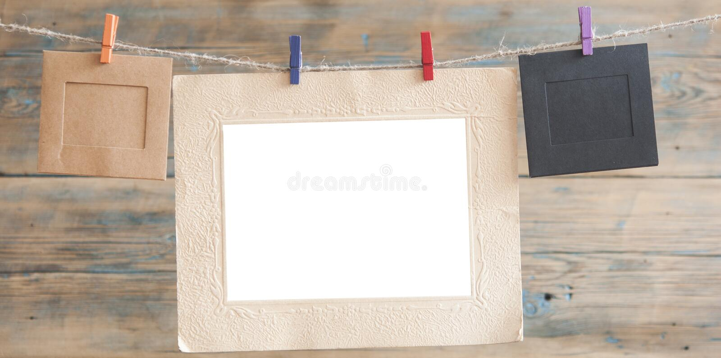 Blocchi per grafici della foto su priorità bassa di legno immagine stock libera da diritti