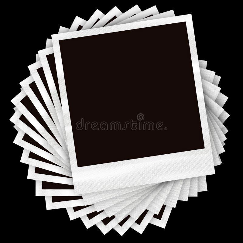 Blocchi per grafici impilati della foto illustrazione di stock